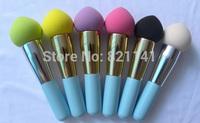2014 hot sale hydrophilic sponge Cosmetic Makeup Brushes set ,Liquid Cream Foundation Sponge Brush