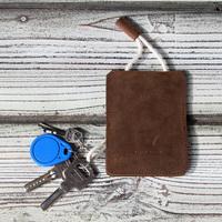 Free shipping 100%Genuine Crazy Horse Leather key holder leather men car key case women fashion leather key bag wholesale/retail