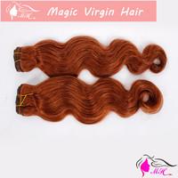 #30 Color Brazilian Virgin Human Hair Weave Body Wave Weaving Extension No Tangling No Shedding No Smell No Lice
