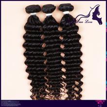 brazilian deep wave virgin hair cheap brazilian hair 3 pcs lot free shipping wet and wavy virgin brazilian human hair extensions(China (Mainland))