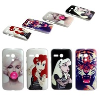 For  Motorola moto g case 1pc  By china post Cool Tiger Sexy Girls Blowing bubbles Plastic Hard Case for moto g cover