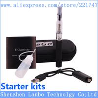Electronic Cigarette eGo CE4 single Starter Kits Ego Zipper Carry Case 650mAh 900mAh 1100mAh 1300mAh eGo CE4 Kit Free epacket