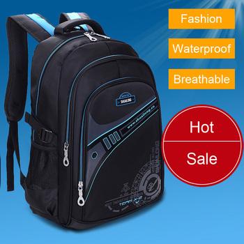 Модный brand waterproof breathable backpacks Детский school bags men's leisure ...