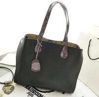 bag in bag 2014 European and American style Lady Handbag Snake Skin Shoulder Bag Messenger Bag Famous Brand Desigual