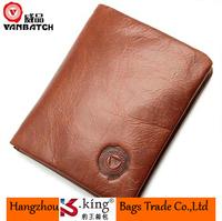 B.King Vanbatch Luxury Brand Wallets Men 2014 Genuine Man Wallet Leather With Coin Pocket , Carteira masculina Marca Famosa