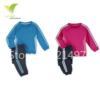 Free shipping 2014 new Children's clothing set coat+pant fashion boys girls clothes brand kids set baby clothing sets 5pcs/lot