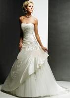 Suzhou wedding dress short skirt quality wedding dress 2014 small tube top tube top