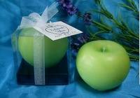 Export hand wax apple shape Candle Festival hive spring festival celebrates apple candle
