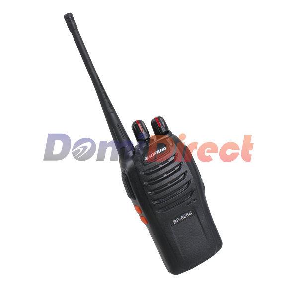 Baofeng Bf-666s Ham Radio 5W UHF Two Way Radio wireless earpiece walkie talkie For CB Radio Transceiver portable radio sets(China (Mainland))