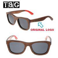 Hipster Casual Brown Rossi Wood Sunglasses with Luxury Logo Woodiful Polarized Sunglasses Oculos Masculino Original De Sol