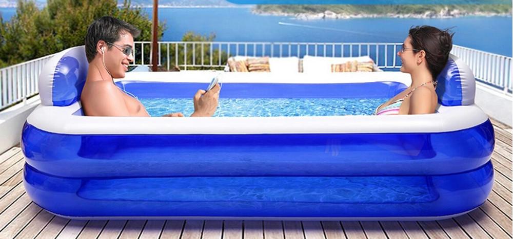 Online kopen wholesale opblaasbare spa uit china opblaasbare spa groothandel - Zwembad met strand ...
