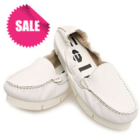 2014 gelly first layer of cowhide shallow mouth low-heeled genuine leather flat heel round toe flat shoes low-top women's shoes