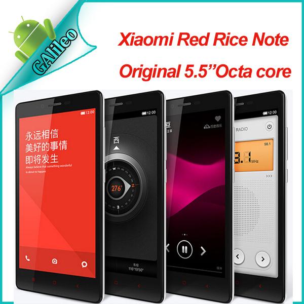 original xiaomi redmi note 4g lte mobile phone red rice