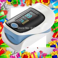10pcs SPO2 Blood Oxygen Monitor Fingertip Pulse Oximeter Color Display Audio Alarm Beep