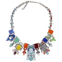 2014 New Z designer Arrive Brand Design Necklace For Girls High Quality Multicolor Rhinestone Pendants Necklaces NK638