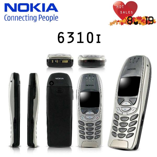 Original Nokia 6310i Mobile Phone Mercedes Benz Logo 2G GSM Tri-band Unlocked Bluetooth Wholesale Retail Cellphones refurbished(China (Mainland))
