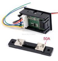 Top Sale! 2014 New Arrival DC 0-100V 50A Dual Digital Voltmeter Ammeter Panel Amp Volt Gauge b4 CB026600