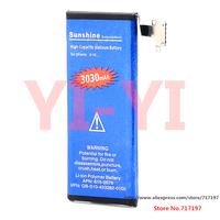 Hot sales!Free shipping,High Capacity 3.7V Nominal Capacity 3030mAh Actual 2000mAh Li-ion Battery for IPHONE 4S - Blue