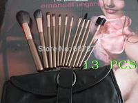 Free HKPOST 1set MC New Pro 13 Pcs Makeup Brushes 13pcs Make Up Brush Set Cosmetic Brushes Kit High Quality hair SOFT