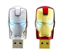 Free Shipping New 2014 Two Kinds Of Color Choice Usb Flash 64GB Metal Film Avatars U Disk 128GB U Disk Pendrive