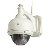 Sricam AP006 Outdoor Waterproof IP Camera Dome CMOS MJPEG Wireless Pan Tilt Wifi IP Camera