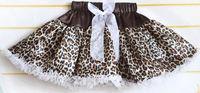 Yixin Children'S Clothing Toddler Girl Tutu Skirts Generous Leopard Grain Design Pettiskirts With Chiffon Ruffles