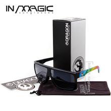 2014 New Style FAME Dragon Sunglasses Men Outdoor Sports Coating Sunglass Fashion Bike Glasses oculos de sol with Box