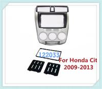 Car Frame Kit / Car Fascia Panel / Audio Panel Frame / Car Dash Kit For Honda City 2009 2010 2011 2012 2013 Free Shipping