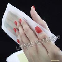 10PCS 2014 Hot Hair Removal Depilatory Nonwoven Epilator Wax Strip Paper Pad Patch Waxing For Face / Legs / Bikini AY870497