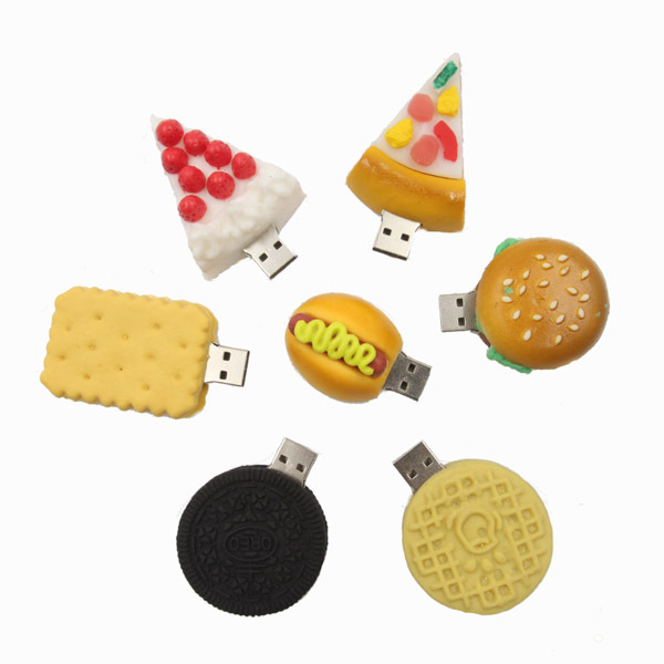 USB-флеш карта New Cookie USB 2.0 /4 /8 /16 /32 Stick P1075 AUP1075