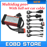 Multidiag Pro+ V2014.1 latest version +bluetooth function+full car cables as same function as TCS for cars and trucks free DHL
