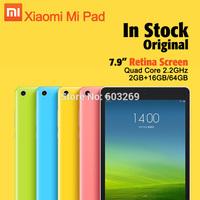 Original Xiaomi Mipad Mi Pad 64GB 16GB 7.9 Inch 2048x1536 Retina Tablet PC Nvidia Tegra K1 Quad Core 2.2GHz 8MP Android 4.4 MIUI