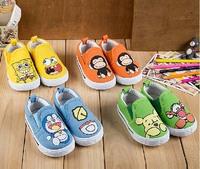 2015 New arrival   13-16.5cm Children Shoes Kids Sneakers baby Boys sports shoes girls cartoon shoes chuansho wliang