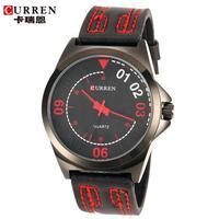 100% Original Curren Watches Men Casual Watches Leather Band Sports Wristwatch relogio feminino 2014