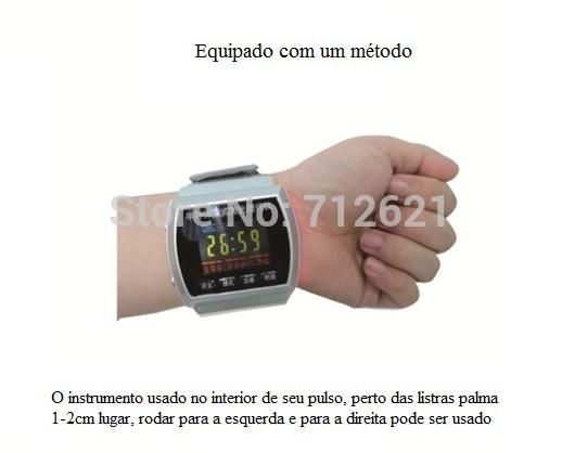 semiconductor laser wrist watch blood pressure lowering fat sugar the ...