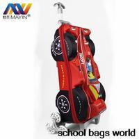 Dora Bags 3 Wheels 3D Trolley School Bags for Girls Boys Dora Kids Cartoon Wheeled Backpack Children Rolling Luggage Gift Bags
