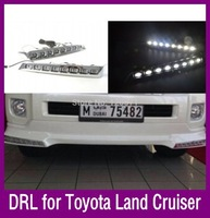 Unimaginable Price For Toyota Land Cruiser 200 LED DRL,LED Daytime Running Light,Free Shipping