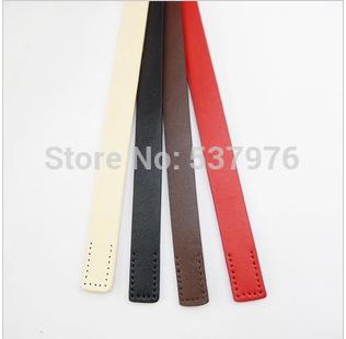 "19.7"" 50cm 2cm wide, 2.6mm thick Cow Split leather bag strap handle DIY handmade bag accessories leather handbag handles belts(China (Mainland))"