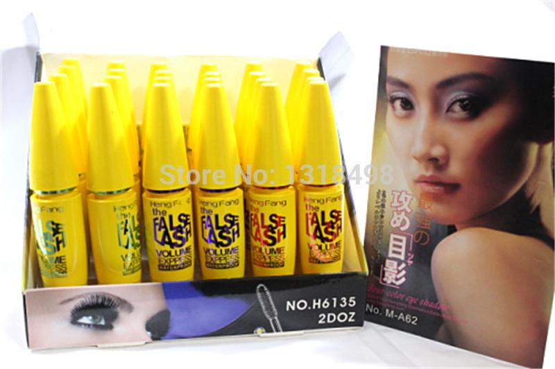 Trois couleurs de curling mascara mascara fibre, colossale, étanches cosmétiques cosmétiques.
