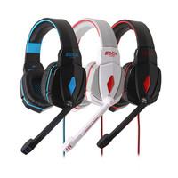 G4000 Stereo 3.5mm Headband Led Light Gaming Headphones Headset Earphone with Mic Volume Control for PC Gamer