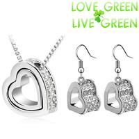 Ювелирный набор LOVE GREEN LIVE GREEN 18KGP 85351 NTSET85351
