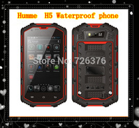"""Humme H5 3G Smartphone Waterproof mobile Phone 4.0"""" IP68 Android 4.2 MTK6572 bluetooth phone 512M RAM Humme H5 mobile phone"""