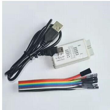 Spedizione gratuita 10sets/lot nuovo arrivo usb analizzatore logico 24m 8ch, braccio MCU FPGA dsp strumento di debug