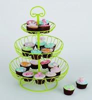 2014 NEW! 1 set  fruit basket cupcake stand birthday party hotel cake decoration wedding towers tree cake dressert stand