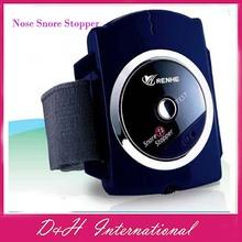 Nose Snore Stopper Snoring Biosensor Infrared Detects Wristband Watch Anti Snoring Sleeping EM313308  Free drop shipping(Hong Kong)