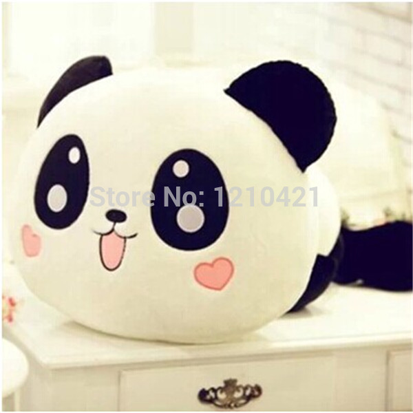 2014 Hot sale super cute plush toy papa panda stuffed toy holding pilliw good for gift 25cm with free shipping(China (Mainland))