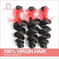 Unprocessed Brazilian Loose Wave Hair 3/4Pcs Lot 6A Brazilian Virgin Hair Weaves Bundles Cheap Remy Human Hair Extension Can Dye