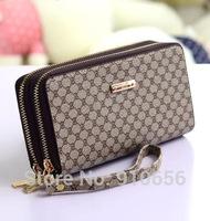 8.19 Seven Seas Sale purses 1pcs 2014 new soft women wallets high quality desigual purse fashion PU double pull handbags purses