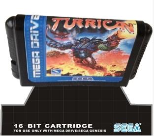 Sega 16bit MD карточных игр : мега Turrican для 16 бит Sega MegaDrive бытие игровой консоли игрушка аниме sega sega sega eva