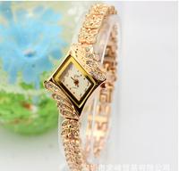 New 2014 Fashion Women Diamond Rhinestone Watches! Luxury Lady Wristwatch Women Dress Watch Rose Gold Watches Clock Dropshipping